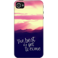 Dailyobjects The Best Is Yet To Come Case For Iphone 4/4S Multicolor