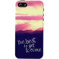 Dailyobjects The Best Is Yet To Come Case For Iphone 5/5S Multicolor