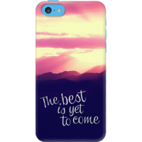 Dailyobjects The Best Is Yet To Come Case For Iphone 5C Multicolor