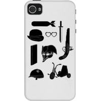 Dailyobjects Kubrick Odyssey Case For Iphone 4/4S Grey