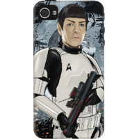 Dailyobjects Spock Trek Wars Case For Iphone 4/4S Grey