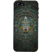 Dailyobjects Stone Of The Sun Case For Iphone 5/5S Black