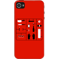 Dailyobjects Tonights The Night Case For Iphone 4/4S Red