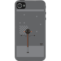 Dailyobjects Being Clueless Case For Iphone 4/4S Grey