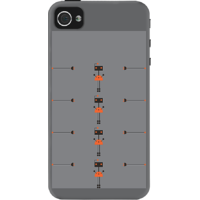Dailyobjects Charging Up Case For Iphone 4/4S Grey