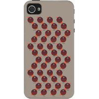 Dailyobjects Small Birds Case For Iphone 4/4S Grey
