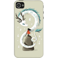 Dailyobjects Dragon Spirit Case For Iphone 4/4S Grey