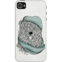 Dailyobjects Shaggy Dog Case For Iphone 4/4S Grey