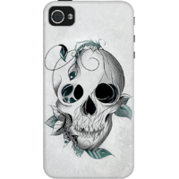 Dailyobjects Skull Boho Case For Iphone 4/4S Grey