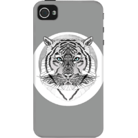 Dailyobjects Tiger Cheif Case For Iphone 4/4S Grey