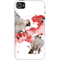 Dailyobjects Feeding Time Case For Iphone 4/4S White/Cream