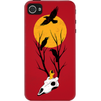 Dailyobjects Guardians Of Dawn Case For Iphone 4/4S Red