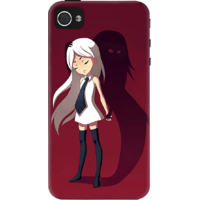 Dailyobjects Shadow Stories Case For Iphone 4/4S Red