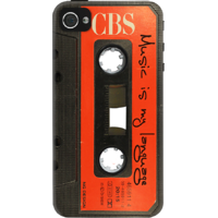 Dailyobjects Music Cassette Case For Iphone 4/4S Black