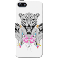 Dailyobjects Wilderness Around Case For Iphone 5/5S White/Cream