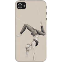 Dailyobjects Yoga Moves Case For Iphone 4/4S Grey