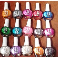 Best Quality Mini Nail Polish Set Of 12 Piece In Best Color  Free Shipping,