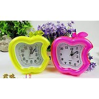 Table Clock Wall Clock With Alarm Apple Style