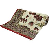 Jaipuri Floral Print Double Bed Duvet Dohar -303