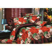 Shopping Edge Double Bedsheet With 2 Pillow Cover Bs037