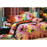 Shopping Edge Double Bedsheet With 2 Pillow Cover Bs039