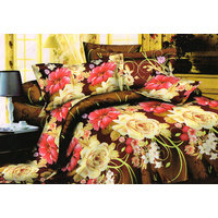 Shopping Edge Double Bedsheet With 2 Pillow Cover Bs040