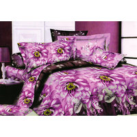 Shopping Edge Double Bedsheet With 2 Pillow Cover Bs041 - 6610236
