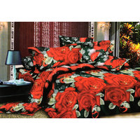 Shopping Edge Double Bedsheet With 2 Pillow Cover Bs043