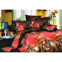Shopping Edge Double Bedsheet With 2 Pillow Cover Bs045