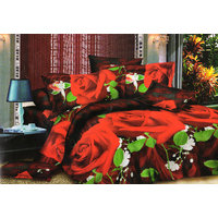 Shopping Edge Double Bedsheet With 2 Pillow Cover Bs046