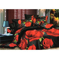 Shopping Edge Double Bedsheet With 2 Pillow Cover Bs048 - 6611324