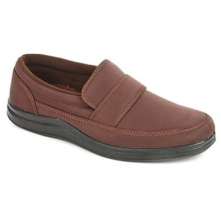 Gliders Classy Mens Brown Casual Shoes