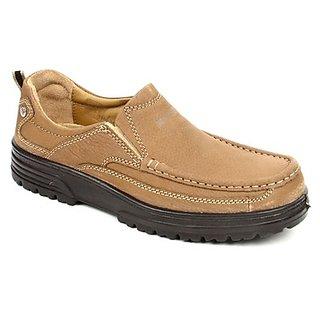 Windsor Mens Camel Casual Shoes
