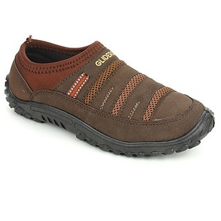 Gliders Mens Brown Casual Shoes