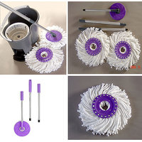 Mop Rotating Spin 360 Degrees Floor Cleaner And Car Cleaner [CLONE]