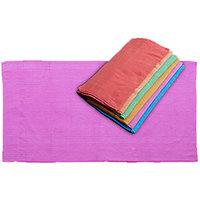 GHS Solid Crape Bath Towels Set (Set Of 3 Pcs)