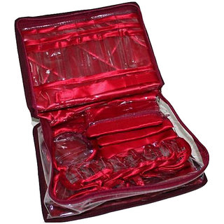 Multipurpose Designer JAMA Work Handmade MAKEUP, Jewelry Flap Pouch / Bag