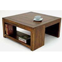 Solid Wood Square Coffee Table