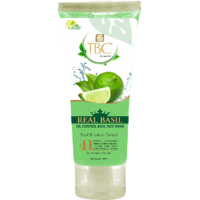 Real Basil Oil Control Basil Face Wash