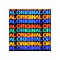 Hologram Stickers-Original Original-15mm X 15mm Square 10000 Stickers Per Pack