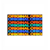Hologram Stickers-Original Original-15mm X 30mm Rectangle 5000 Stickers Per Pack