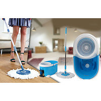 Mop Rotating Spin 360 Degrees Floor Cleaner And Car Cleaner - 6711804