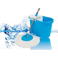 Magic Spin Mop Rotating 360 Degrees Floor Tiles Washer Cleaner - 6713166