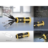 Power Plus  G14 - 8-in-1 Folding Toolkit (with 7 LED Torch)