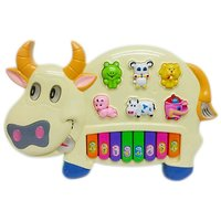 Pianism Funny Musical Cow Educational Piano Keyboard Toy Game For Kids