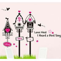 """Home Decor Wall Stickers """"Birds Love Nest"""" Decorations For Home"""