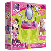 Minnie'S Vanity Set With Legs And Stool Kid's Toy