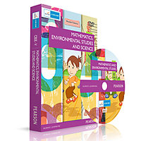 CBSE Class 5 Maths And Evs + Science Combo(Dvd)