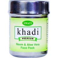 Khadi Premimum Herbal Neem And Aloe Vera Face Pack 50 Gm