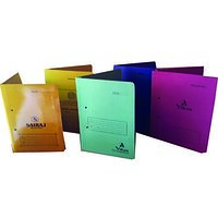 OFFICE FILE COVER (COMBO OF 5 )